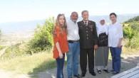 Jandarmadan Şehit ve Gazi Babalarına Ziyaret