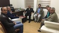 Başkan Şahin'den Eğitim Bir Sen'e Ziyaret