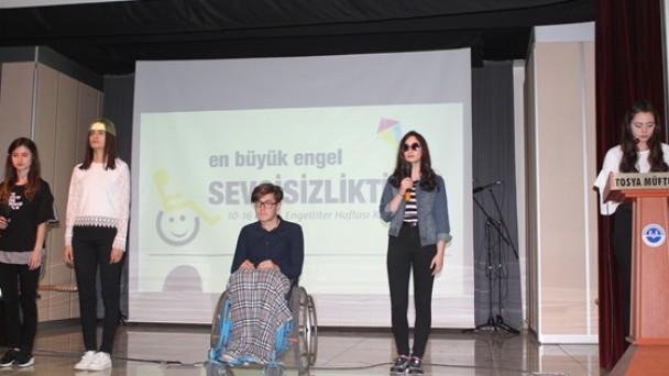 Engelliler Haftası Programı Düzenlendi