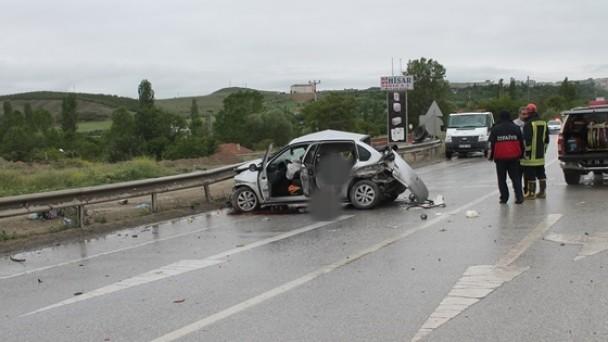 Tosya'da Kaza;3 Ölü