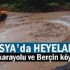Tosya'da Heyelan Meydana Geldi