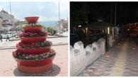 Tosya'nın Cadde Ve Sokakları Güzelleşiyor