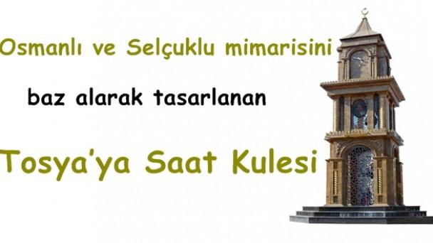 Tosya'ya Saat Kulesi