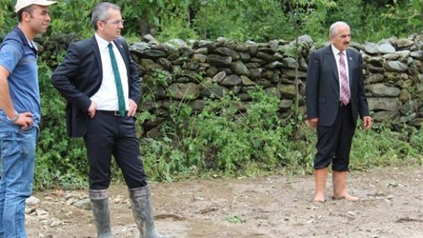 Yenidoğan Köyü'nde Dolu Afeti