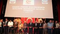 Tosya Şehit Ömer Halisdemir Kültür Merkezi Törenle Açıldı