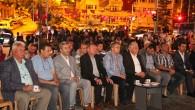 Tosya'da Yağmur Altında Demokrasi Nöbeti