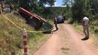 Yağcılar Köyü'nde Kaza; 1 Ölü, 3 Yaralı