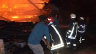 Dağçatağı Köyünde 5 ev, 5 samanlık alev alev yandı