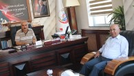 DSİ Bölge Müdüründen Başkan Şahin'e  Veda Ziyareti