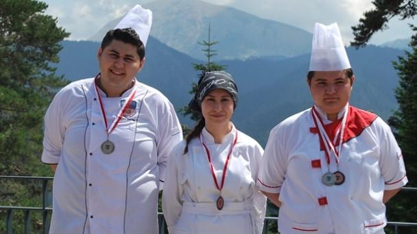 Ferko Ilgaz Mountain Hotel&Resort aşçıları 4 madalya ile döndüler