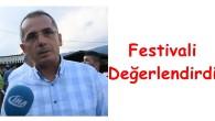 Kaymakam Deniz Pişkin Festivali Değerlendirdi