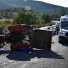 Çepni Köyü'nde Traktör devrildi, 2 kardeş yaralandı