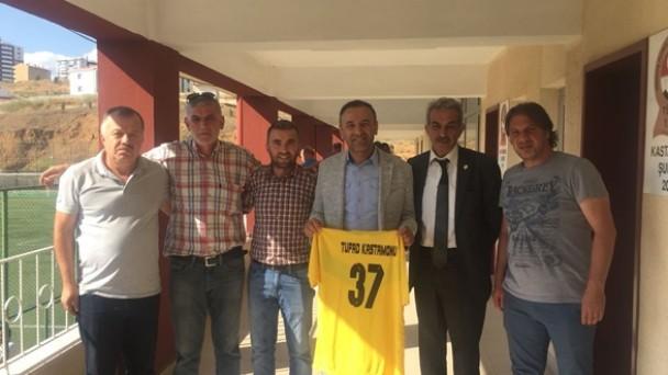 Kastamonu TUFAD Şubesi Ve ASKF Başkanlığı Ziyareti