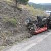Kuşçular Köyü'nde Traktör Kazası; 1 Yaralı