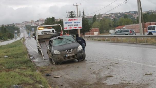 Yeni Sanayi Kavşağı'nda Kaza 6 Yaralı