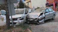 Şehir Merkezinde Kaza;3 Yaralı
