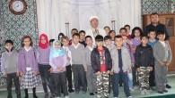 Fevzipaşa İlkokulu Öğrencileri Çocuk Cami Buluşmasında