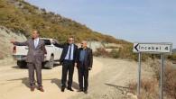 Kaymakam ve Belediye Başkanı Köy Yollarını İnceledi