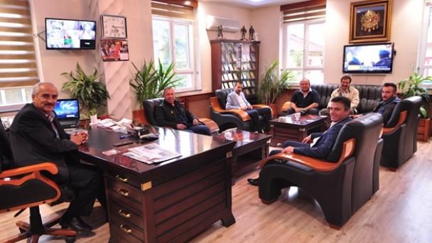 TOSGİAD'dan Başkan Şahin'e Ziyaret