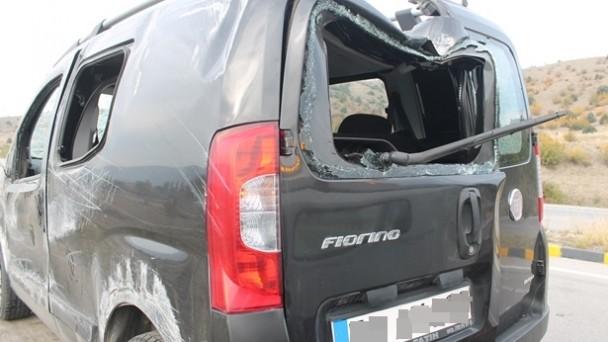 Zincirlikuyu'da Kaza;2 Yaralı
