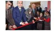 İlk Kütüphane Törenle Açıldı