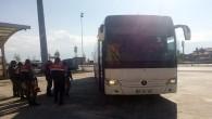 Tosya'da 121 kaçak göçmen yakalandı