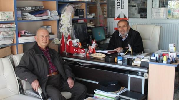 Tosyalı Şair Talat Küçükkasap'tan Gazetemize Ziyaret