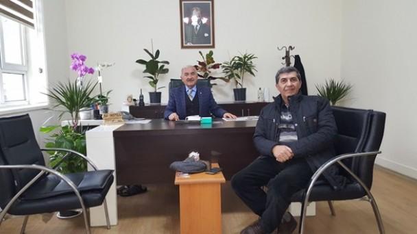 Belediye Başkan Yardımcısına Ziyaret