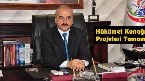 Hükümet Konağı Projeleri Tamam