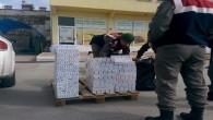 Jandarma 2 bin 750 kaçak sigara yakaladı