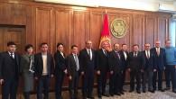 Kırgızistan Cumhuriyeti Meclis Başkanıyla Görüştü
