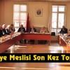 Tosya Belediye Meclisi Yılın Toplantısını Yaptı