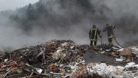 Tosya'da çöplük alanında yangın