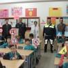 Trafik ekipleri çocuklara kuralları anlattı