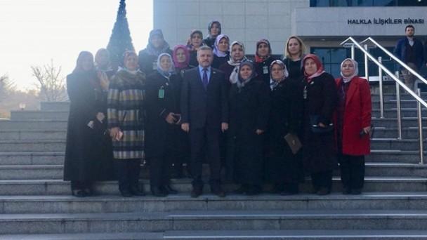 Kadın Kollarından Ankara Çıkarması