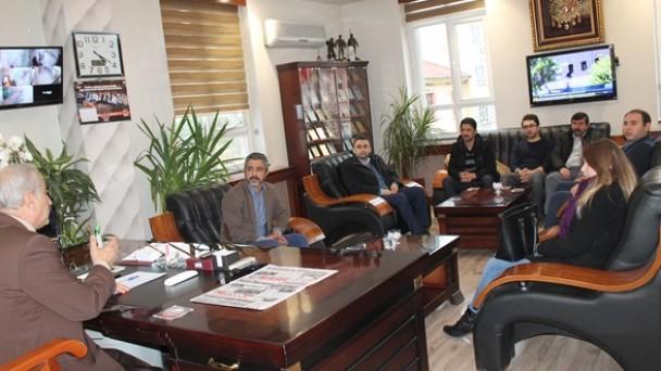 Namık Kemal Ortaokulu'ndan Başkan Şahin'e Ziyaret