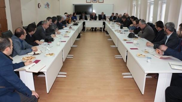 Okul Müdürleri Toplantısı Yapıldı