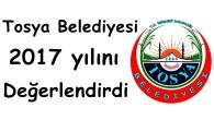 Tosya Belediyesi 2017 yılını değerlendirdi
