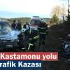 Tosya-Kastamonu Yolunda Trafik Kazası 1 kişi hayatını kaybetti