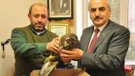 Yaralı Doğan'a Belediye Başkanı Sahip Çıktı