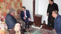 Yaşlı, hasta ve engelli vatandaşları ziyaret etti