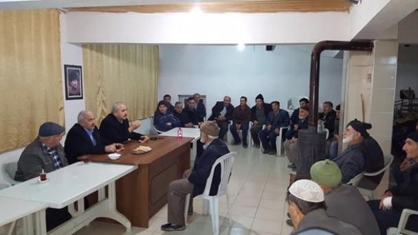 Belediye Başkanı Kazım Şahin Özboyu Köyü'nde