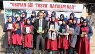 Efsane Bakan Kütüphane Açılışı için Tosya'da