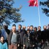 Göndere Türk Bayrağı Çektiler