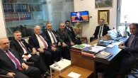 Tosya Heyeti, Kastamonu Vekillerini Meclis'te Ziyaret Etti