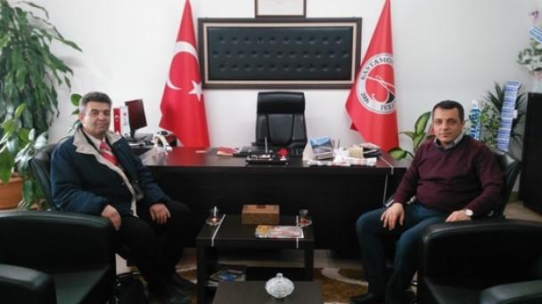 Türkiye Gazetesinden Yüksekokul Müdürüne Ziyaret