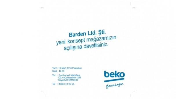 BEKO Mağazası Bugün Açılıyor