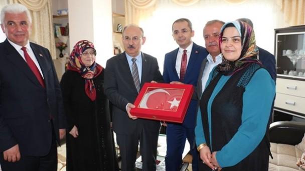 Gazi ve Şehit Ailelerine Ziyaret