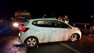 Tosya'da trafik kazasında 2 kardeş ağır yaralandı