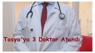 3 Uzman Doktor Atandı